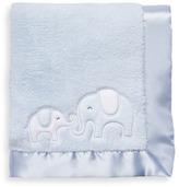 Carter's Blue Elephant Satin Trim Blanket