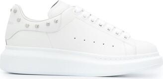 Alexander McQueen Stud-Heel Oversize Sneakers