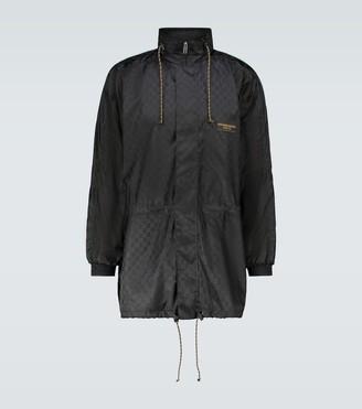 Gucci GG jacquard technical jacket
