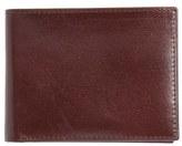 Johnston & Murphy Men's Slimfold Leather Wallet - Grey