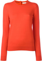 Tory Burch cashmere crew neck jumper - women - Cashmere - M