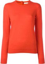 Tory Burch cashmere crew neck jumper - women - Cashmere - XS