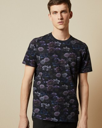 Ted Baker ZOOM Printed cotton T-shirt