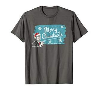 Merry Chemtrails Holiday Conspiracy T-shirt