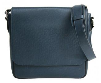 Louis Vuitton Roman Blue Leather Bags