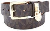 MICHAEL Michael Kors Textured Faux Leather Belt