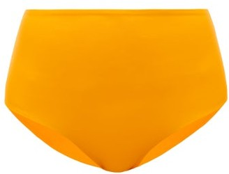JADE SWIM Bound High-rise Bikini Briefs - Orange