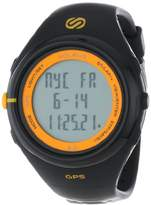 Soleus Men's SG003020 GPS Running Watch with Black Resin Band