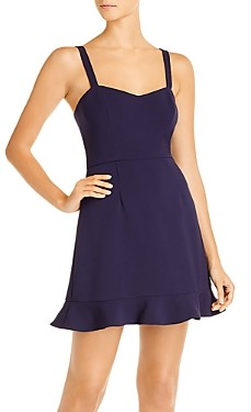 French Connection Whisper Sleeveless Mini Dress