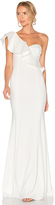 Jay Godfrey Bolt Gown in Ivory