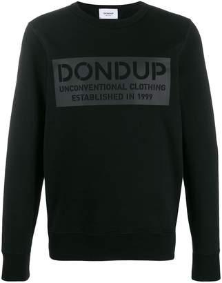 Dondup logo print sweater