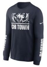 Nike Men's Chicago Bears Split Local Long-Sleeve T-Shirt