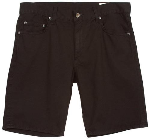 Rag and Bone 5 Pocket Slim Fit Knee Length Short in Black