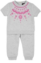 Juicy Couture Baby Fashion Track Embroidery Terry Pullover Set