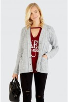 Select Fashion BOYFRIEND CARDIGAN - size 6