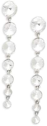 Kenneth Jay Lane Pave Linear Drop Earrings