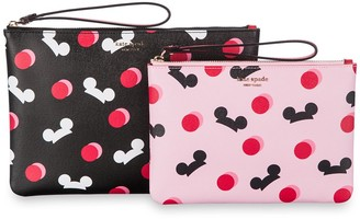 Disney Mickey Mouse Ear Hat Pouch Duo by kate spade new york