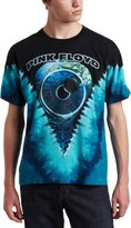 Liquid Blue Men's Pink Floyd Pulse V Tie Dye Tee, Multi