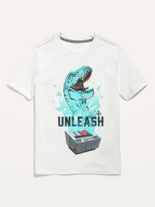 Old Navy Gender-Neutral Graphic Short-Sleeve Tee for Kids