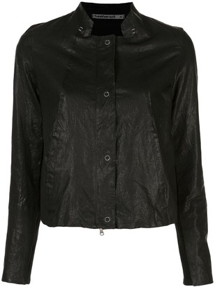 Transit long-sleeve fitted jacket