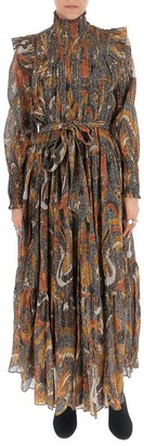 Ulla Johnson Printed Gathered Dress