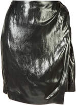 IRO wrap front skirt