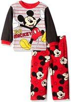 "Disney Mickey Mouse Baby Boys' ""Starry Stripes"" 2-Piece Pajamas"