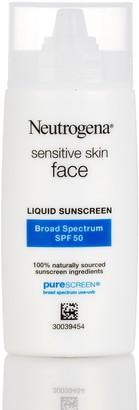 Neutrogena Sensitive Skin Face SPF 50 Liquid Sunscreen