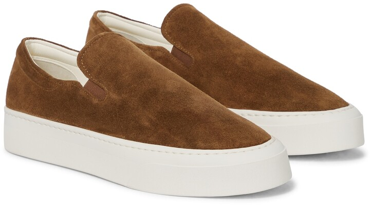 Thumbnail for your product : The Row Marie H suede sneakers