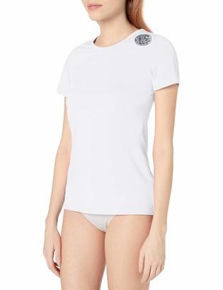 Rip Curl Women's Whitewash Loose Fitting Short Sleeve Uv Rashguard