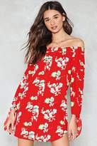 Nasty Gal nastygal Slow Summer Dancin' Floral Dress