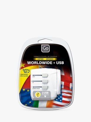 Go Travel USB UK and USB Travel Adaptor