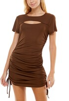 Thumbnail for your product : Ultra Flirt Juniors' Ruched Cutout Bodycon Dress