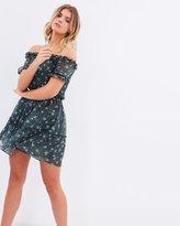 Miss Selfridge Floral Tiered Bardot Dress