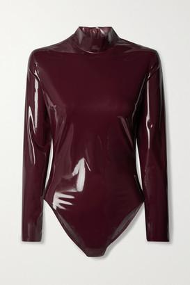 Saint Laurent Latex Bodysuit Latex Care Cleaning Kit 3 X 30ml Bottles (vividress, Vivishine, Viviclean) - Burgundy