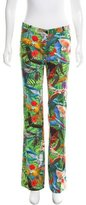 Altuzarra Tropical Print Redwood Trousers w/ Tags