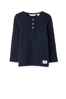 Country Road Solid Henley