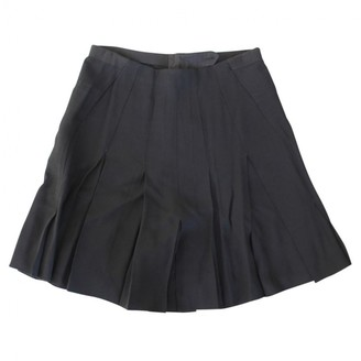 Aquilano Rimondi Black Silk Shorts for Women