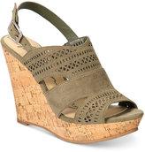 American Rag Mirranda Platform Wedge Sandals, Created for Macy's Women's Shoes