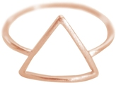 Alternative Cloverpost Open Triangle Ring