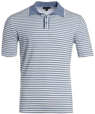 Saks Fifth Avenue Stripe Polo
