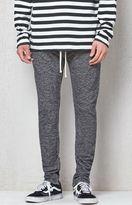 PacSun Drop Skinny Gray Fleece Jogger Pants