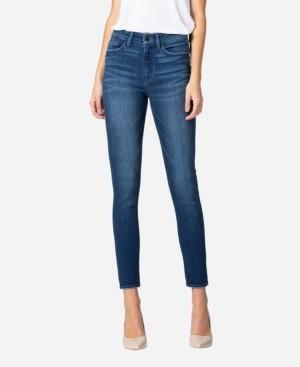 VERVET Women's High Rise Skinny Crop Jeans