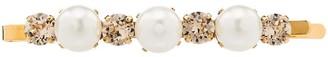 Simone Rocha gold-tone crystal and pearl hair clip