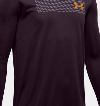 Under Armour Boys' UA Velocity Graphic Long Sleeve