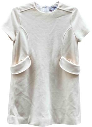 Charles Anastase White Wool Dress for Women