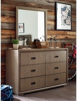 Rachael Ray Hudson 6 Drawer Double Dresser with Mirror Home