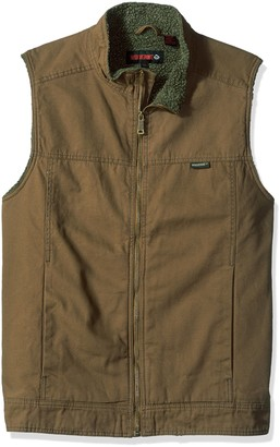 Wolverine Men's Big and Tall Porter Sherpa Lined Vest