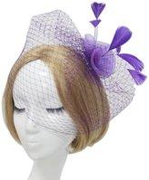 CaliaDress Bow Flower Wedding Cocktail Hair Clip Bridal Birdcage Face Veil C007TS