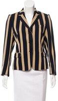 Dries Van Noten Striped Wool Blazer w/ Tags